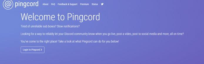 pingcord