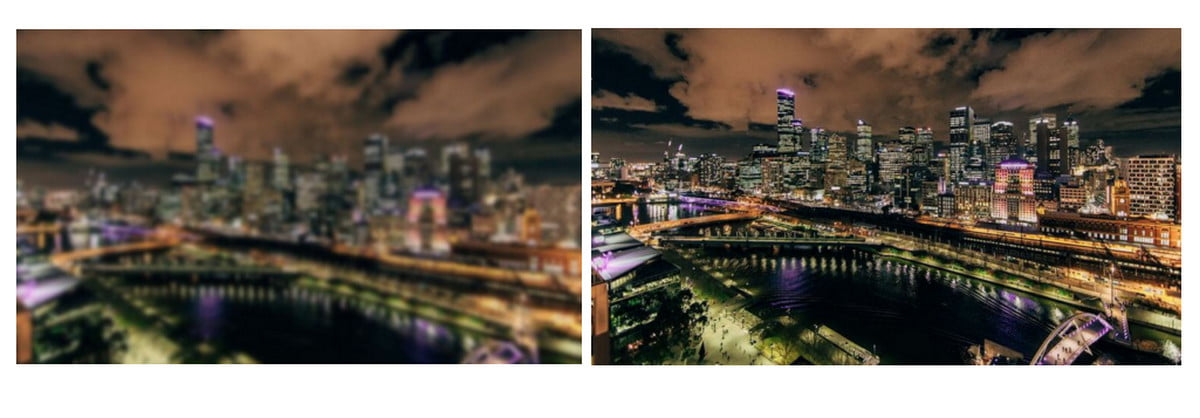 how to unblur image