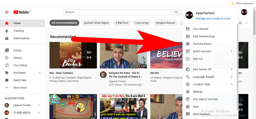 Manage YouTube Videos