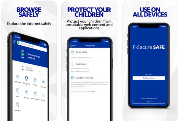 F-Secure SAFE app