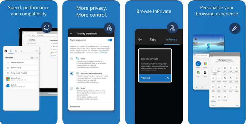 Edge Browser for iPhone