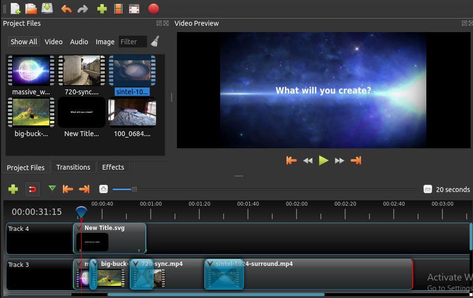 Open Shot Software