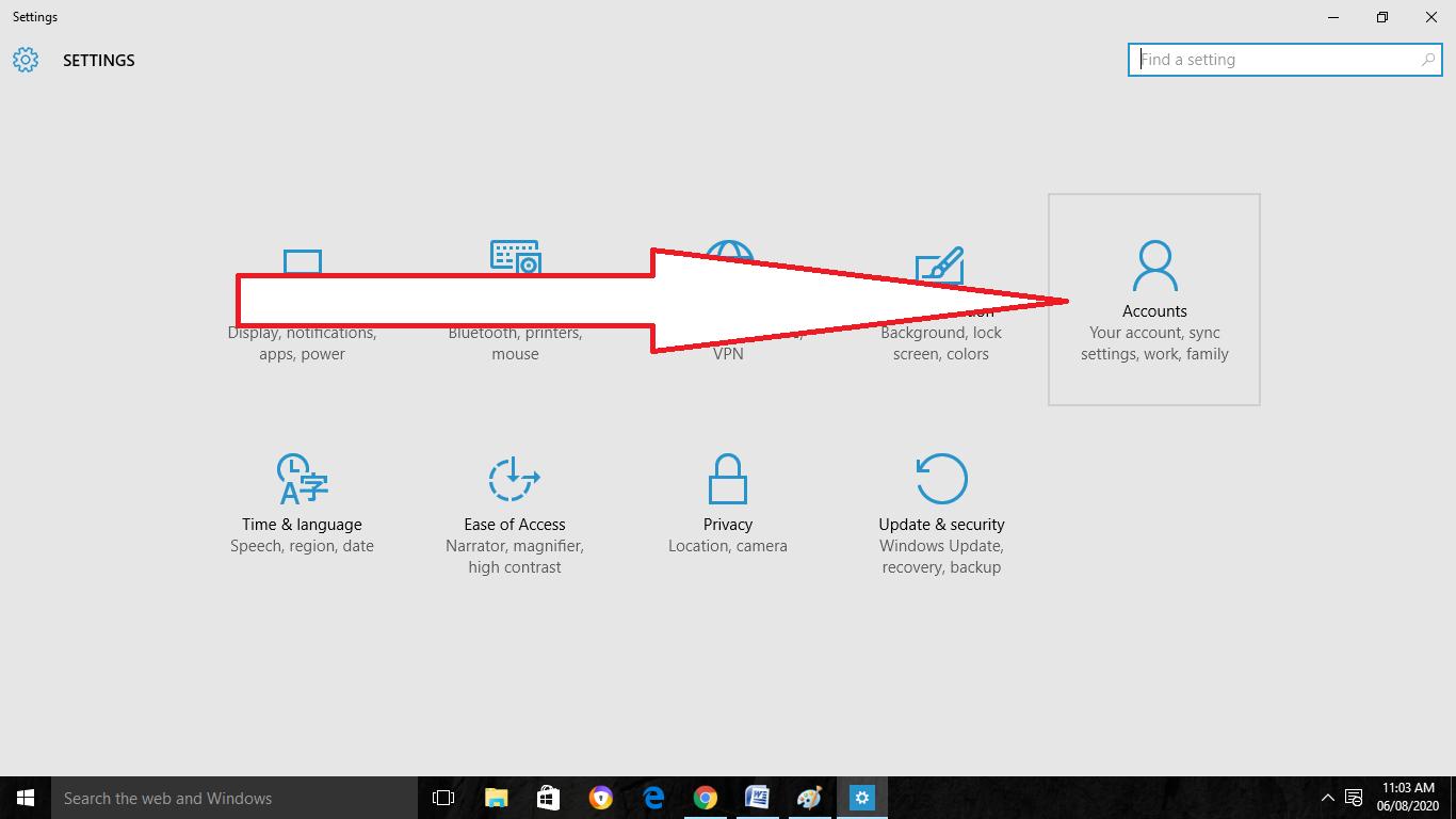 Windows User Account