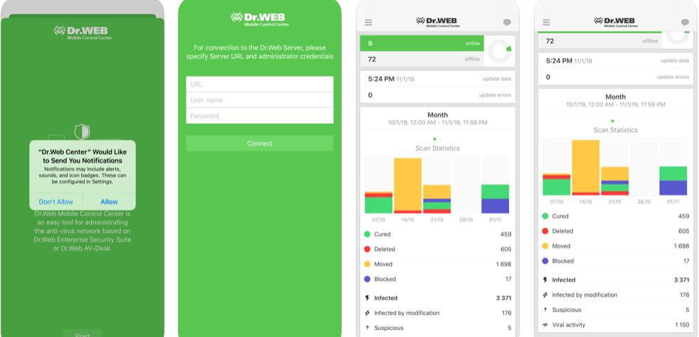 dr web app