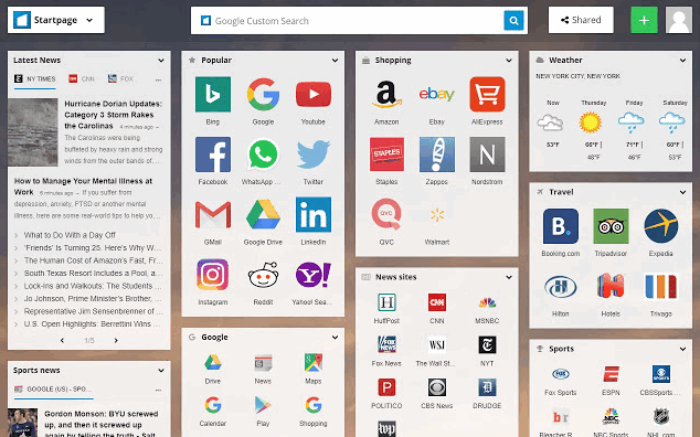 customize new tab page in chrome browser min