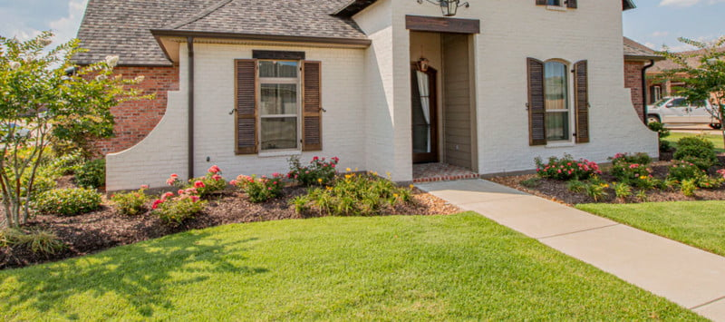 landscaping in monthly budget