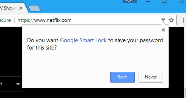chrome saved passwords