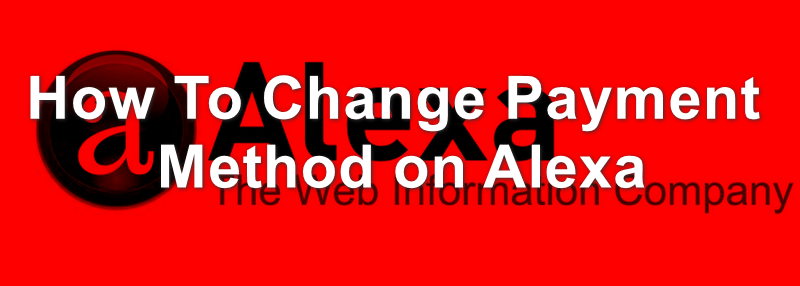 Change Payment Method on Alexa