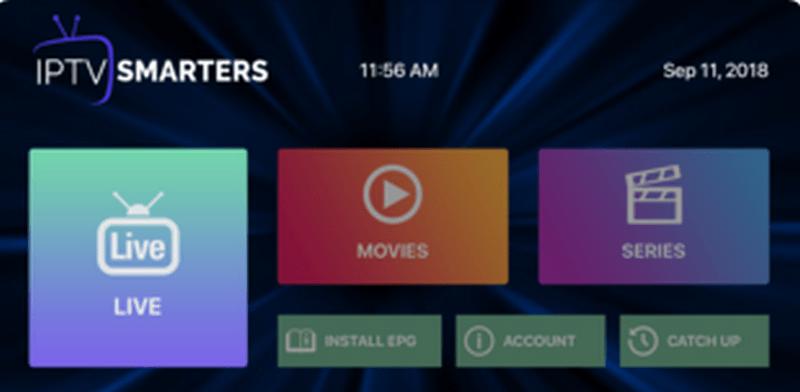 IPTV Smarters For Apple TV