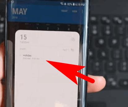 Google Calendar on Phone