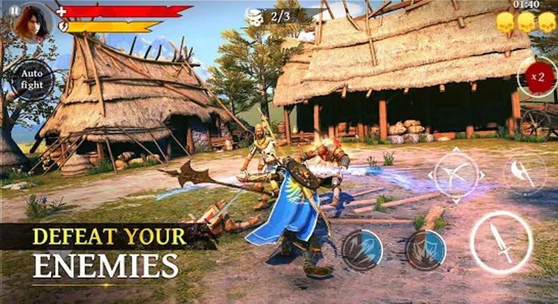 Iron Blade: Medieval Legends RPG offline
