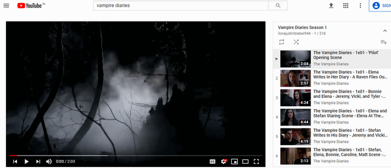 how to watch tv shows on youtube