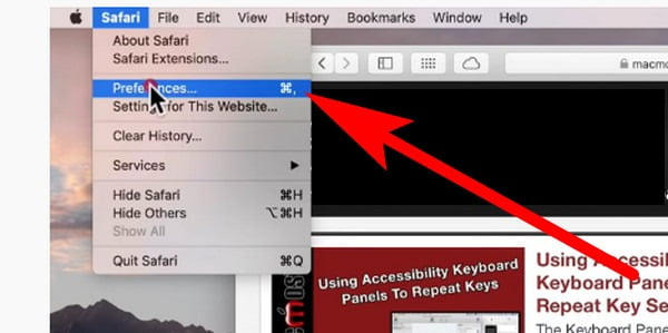 how to clear cookies in safari on macbook pro
