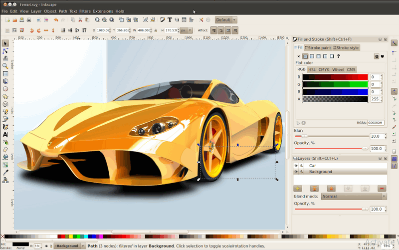 how to use inkscape in windows