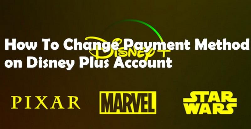 update disney plus payment details