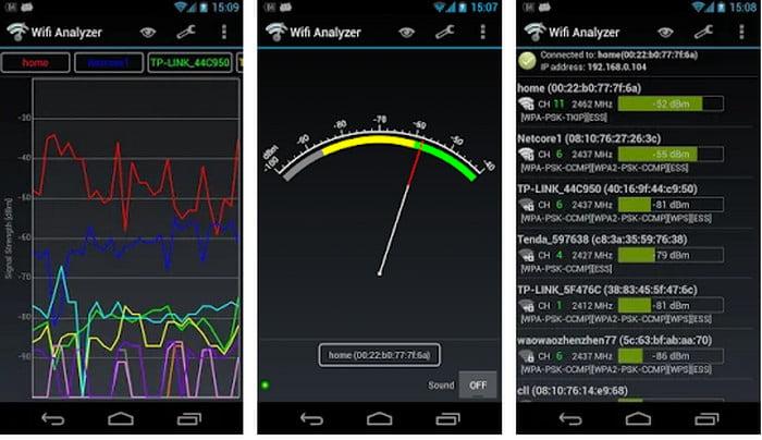 Wifi Analyzer app for iOS