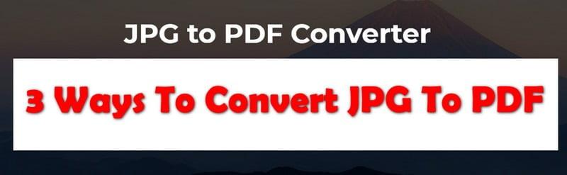 convert jpg to pdf on bulk