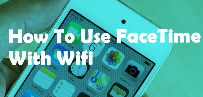 use facetime without wifi on iPad