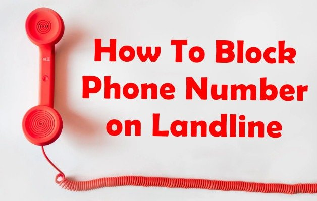 how to block someone on landline
