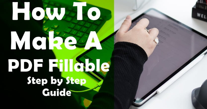how to make a pdf fillable