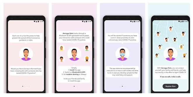 Download aarogya setu app