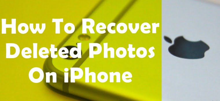 how to retrive deleted photos on iPhone