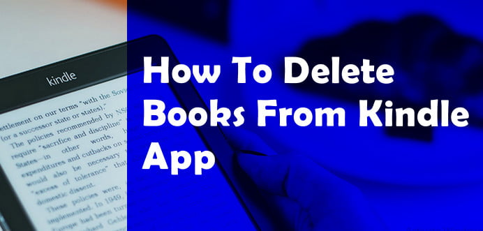 Delete Books from Kindle App