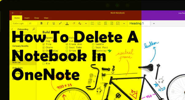 How to Delete a Notebook in OneNote