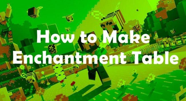 Create Enchantment Table