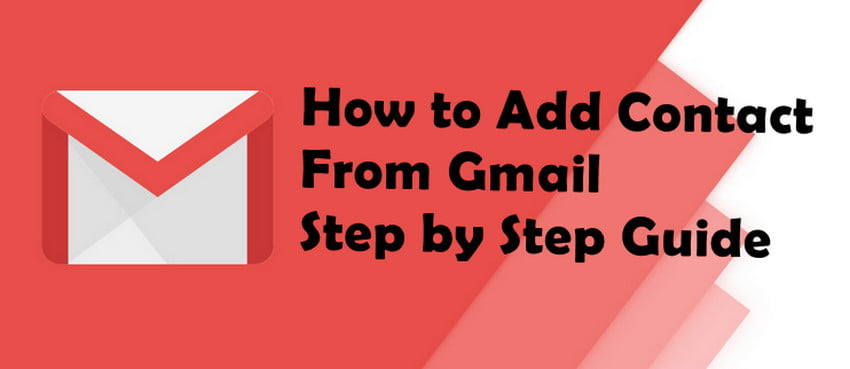 How To Add Contact From Gmail