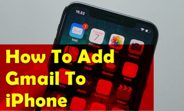 How To Add Gmail To iPhone