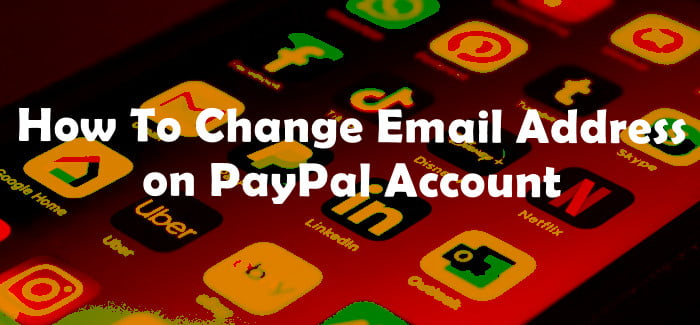 Change Email on PayPal