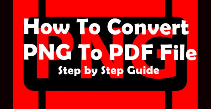 convert Png to pdf