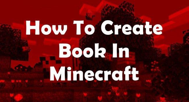 make book in minecraft