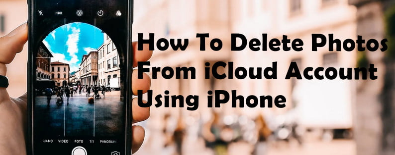 how you can delete photos on iCloud