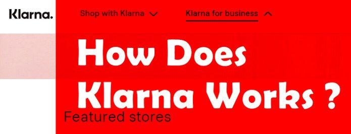 how does klarna work?