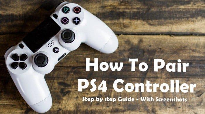 Pair PS4 Controller