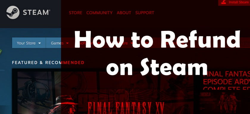 how to refund on steam