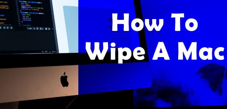 wipe a mac