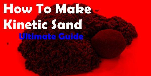 make kinetic sand