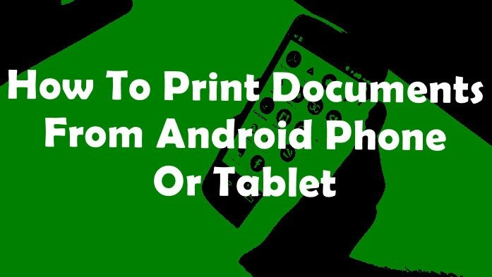 How to print document from android