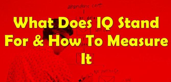 how calculate IQ