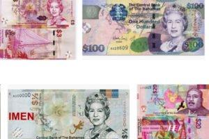 Bahamian Banknote Features Queen Elizabeth