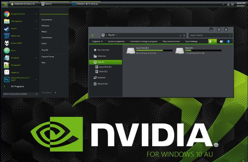 Nvidia Theme Download