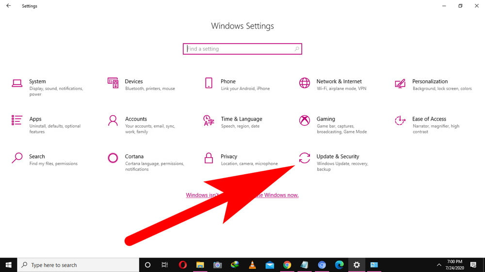 Windows 10 Secuity