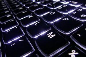 turn on keyboard lights
