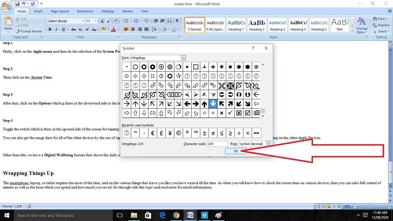 Add Checkbox In Word