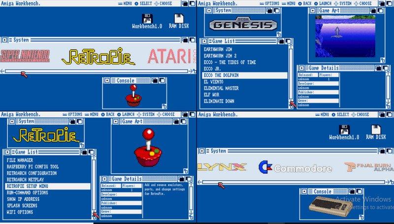 Amiga Workbench theme
