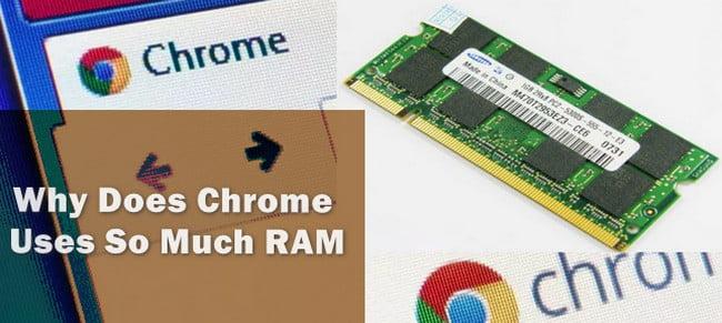 RAM use on chrome