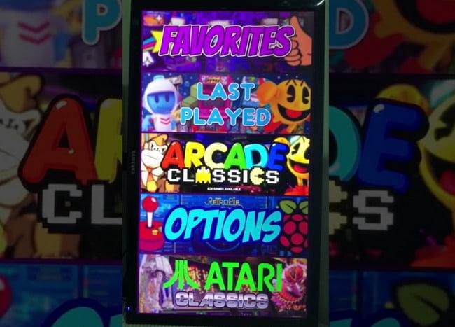 Vertical Arcade Theme